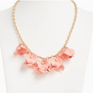 Torrid Coral Petal Necklace